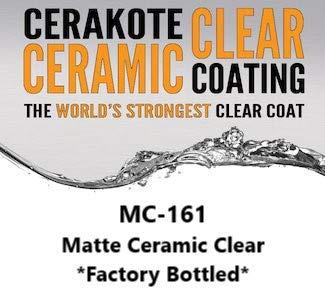 CERAKOTE C-Series 4 oz Bottle - Air Cure Firearm Finish - Factory Packaged (MC-161: Matte Clear)