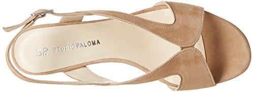 STUDIO PALOMA 19511 - Sandalias de vestir Mujer Marrón - Marron (Ante Brandy)