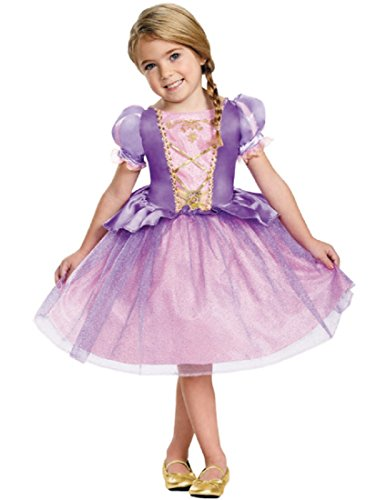 [Disguise 82914L Rapunzel Toddler Classic Costume, Large (4-6x)] (Rapunzel Costumes For Girl)