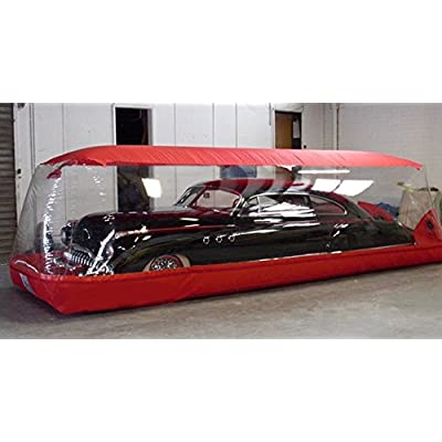 LK Outdoor Inflatable Car Cover with Integrated Fan