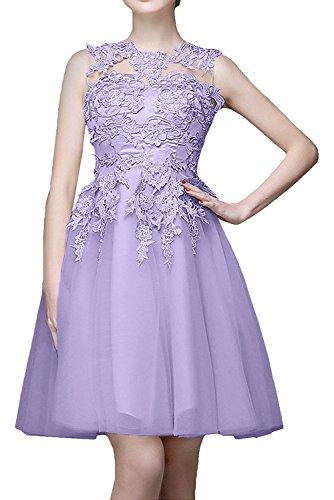 Marie Kurzes Cocktailkleider Mini La Promkleider Braut Champagner Lilca Spitze Abendkleider Abiballkleider wqpwIgdXx