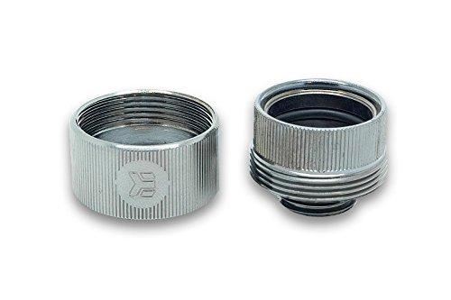 Black Nickel EKWB EK-HDC Compression Fitting for EK Rigid Tubing 16mm OD 4-Pack