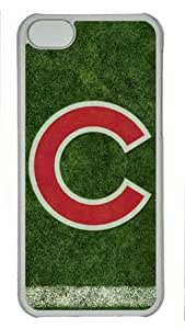 iPhone 5C Case, Chicago Cubs Logo Case for iPhone 5C PC Material Transparent