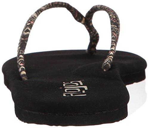 Flojos Women's Lulu Flat Black/Multi m5etrLalD