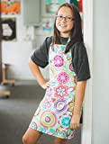 Colorful Handmade Baking Art Crafting Apron Gift for Tween Girl
