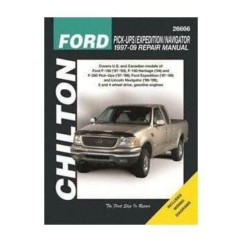 amazon com chilton repair manual ford 1997 2003 pickup 1997 2014 rh amazon com 1994 Ford F-150 Blue 1994 Ford F-150 Pick Up
