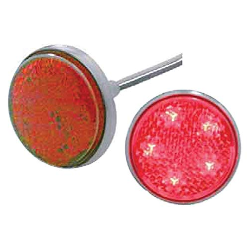 Eckler's Premier Quality Products 57-256054 Chevy Taillight Reflector, LED, ()