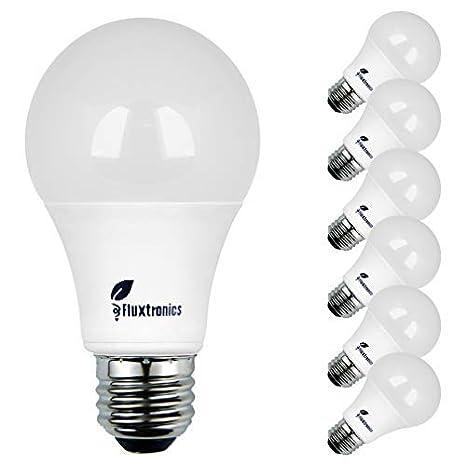 Fluxtronics A19 Led Light Bulbs 75 Watt 100 Watt Equivalent 1100
