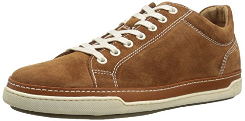 Allen Edmonds Mens Porter Derby Sneaker In Camoscio Marrone Chiaro