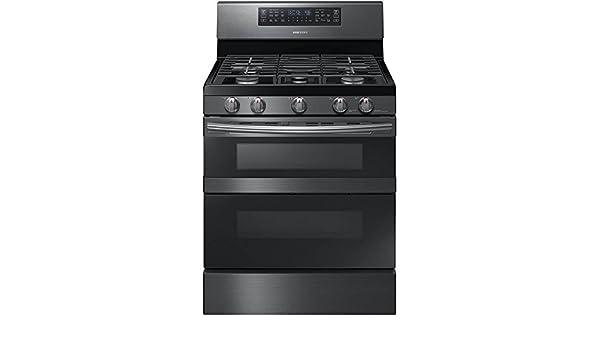 Samsung NX58M6850SG 5.8 cu. ft. Black Stainless Gas Range NX58M6850SG/AA