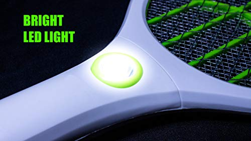 Weird Wolf (Formerly Viola) Heavy Duty Mosquito Bug Zapper Killer Racquet Bat with Powerful Battery and 6 Month Warranty 4