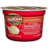 Idahoan Buttery Homestyle Mashed Potatoes, Made with Gluten-Free 100% Real Idaho Potatoes, 1.5 oz (Pack of 10)