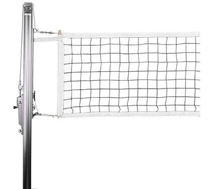 Amazon.com : Competition Indoor Volleyball Net : Indoor Volleyball ...