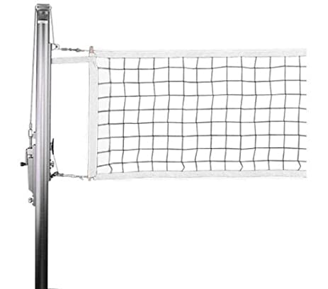 Amazon.com : Competition Indoor Volleyball Net : Indoor Volleyball ...