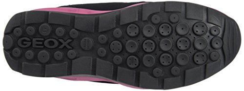Geox Unisex Adults' J Orizont B Girl ABX a Snow Boots Black (Black C9999) Jlmp2Yh