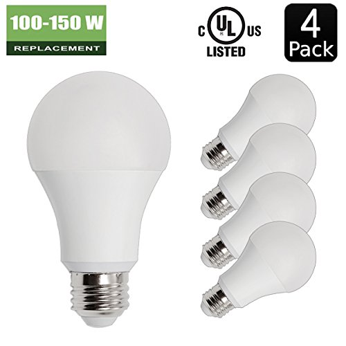 low-cost 14W ( 100W - 150W Equivalent ) 4 Pack A19 LED Light Bulb  sc 1 st  Bacot Academy & low-cost 14W ( 100W - 150W Equivalent ) 4 Pack A19 LED Light Bulb ...