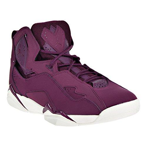 Jordan Nike Mens True Flight Basketball Shoe Bordeaux/Bordeaux-Sail