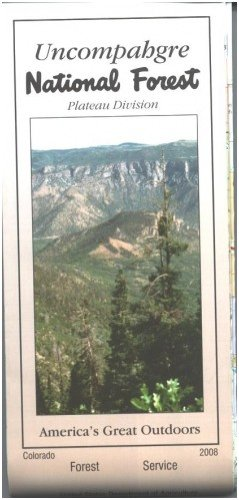 Uncompahgre National Forest Map (Plateau Division) Waterproof