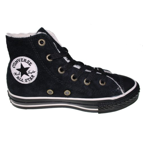 Converse CT AS Winter Chucks Hi Wildleder Winterschuhe grau Kinder Schuhe, pointure:eur 30