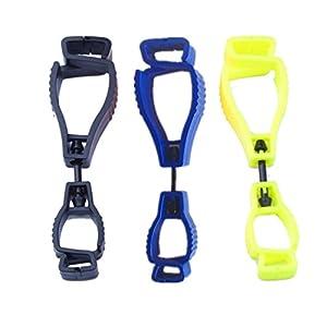 3 Pack Glove Grabber Clip Holder Guard Work Safety Clip Glove Keeper,Reduce Hands Injury