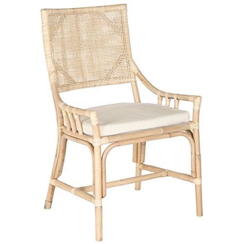 Donatella Collection - Safavieh Home Collection Donatella Wash Chair, Natural White