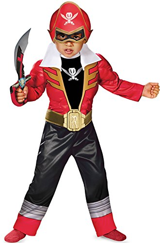 [Disguise Toddler Super MegaForce Power Rangers Light-Up Costume Small 2T] (Power Rangers Megaforce Halloween)