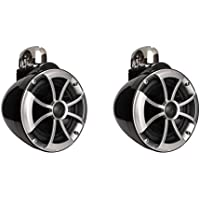 Wet Sounds ICON Series 8 inch Wakeboard Tower Speakers - Black w/ Fixed Clamp