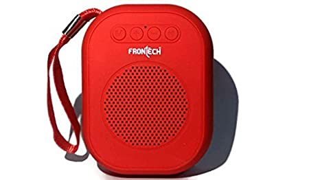 Frontech Bluetooth Calling Speaker FM TF Jil 3959 Battery Powered With Strap Speakers