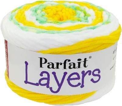 Premier Yarns 1070-08 Premier Parfait Layers Yarn Limeade, Multicolor