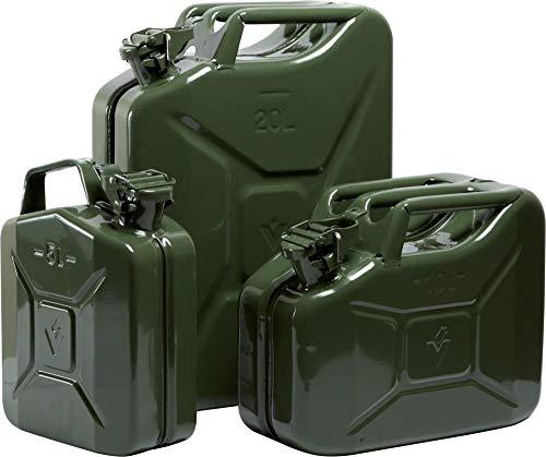 Format 4750553000021/ /Fuel Can 10L Stahl Oliv Valpro