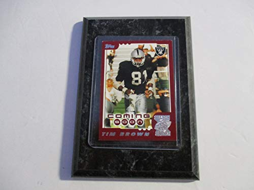 TIM BROWN OAKLAND RAIDERS 2000 NFL TOPPS