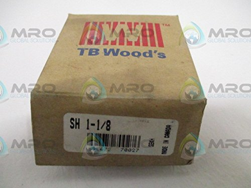 TB Woods Type SH SH118 Sure-Grip Bushing, Cast Iron, Inch, 1.125