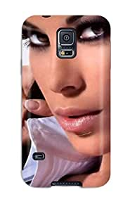 Durable Case For The Galaxy S5- Eco-friendly Retail Packaging(aida Yespica Italian Tv Celebrity)