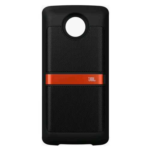 JBL SoundBoost Moto Mod Speaker moto Z, Black (Power Speaker With Case)