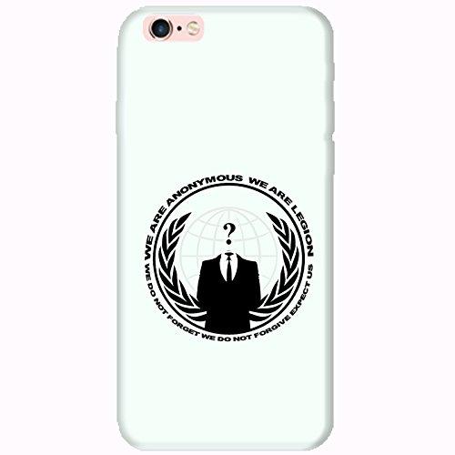 Coque Apple Iphone 6-6s - Anonymous mintcream