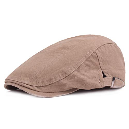 Paperboy Hats Wholesale (Newsboy Ivy Cap Spring Hat Solid Cotton Weaved Soft Breathable Comfortable Driving Cap)