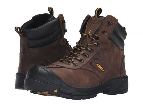 Keen Utility(キーン) メンズ 男性用 シューズ 靴 ブーツ 安全靴 ワーカーブーツ Warren ESD Boot (Steel Toe) Dark Earth [並行輸入品] B07F9XK62Z 10 EE Wide