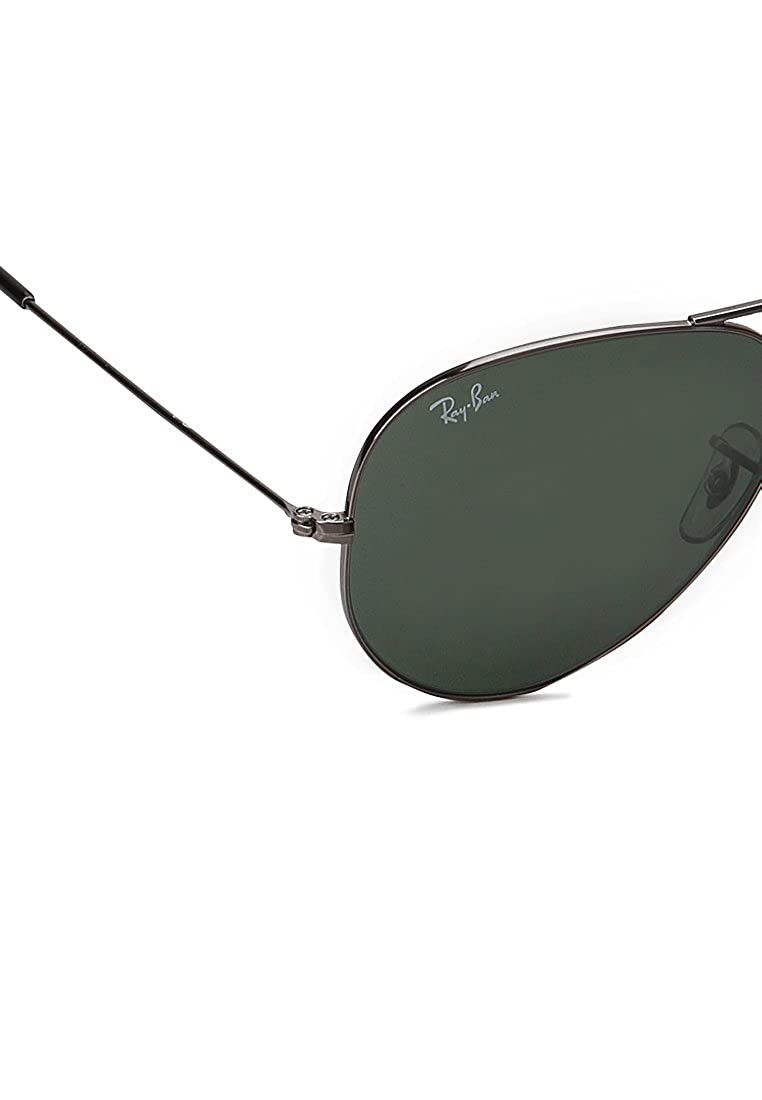 50ad462be5 Ray-Ban Aviator Sunglasses (0RB3025I00458)  Amazon.in  Clothing    Accessories