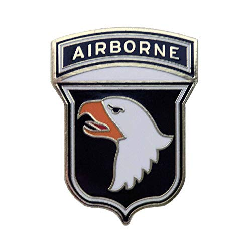 Dope Waffles 101st Airborne SSI Division US Army Unit Insignia Enamel Pin