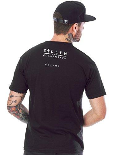 ... Shirt Black Sullen Men's Goethe SS T Shirt Black Sullen Men's Goethe SS T  Shirt Black. Inspiriert durch Weird Science Spoiler Unofficial 3/4 Hulse  Retro ...