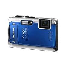 Olympus Tough TG-610 14MP 5x Optical Zoom Digital Camera Blue