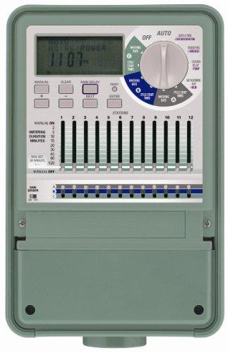 Orbit 57012 Sprinkler System 12 Station Professional Outdoor Mounted  Sprinkler System Control Timer