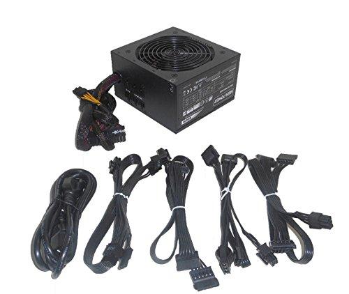 HIGH POWER 600W Modular-Cable 80plus Bronze Energy Efficient Active PFC Quiet 120mm Fan Desktop PC ATX 12V Power Supply, Upgrade for Dell XPS 8300 8500 8700 8900 x8900 D460AM-02/DPS-460DB-10A (Best Desktop Computer Upgrades)