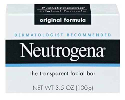Neutrogena The Transparent Facial Bar Original Formula, 3.50 oz ( Pack of 6)