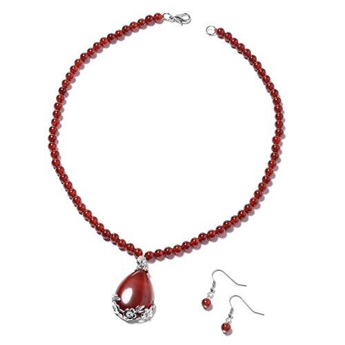 Agate Set Earrings - 6