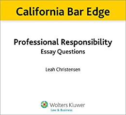 california essay questions Essay legal essay,  learn effective strategies for analyzing mbe questions  the july 2014 california bar exam (cbx).