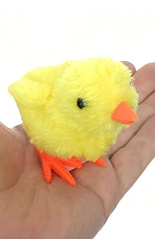 Liberty Imports 1 Dozen Wind-Up Jumping Chicken and Bunnies Party Favors Pack of 12 005+006+007+010