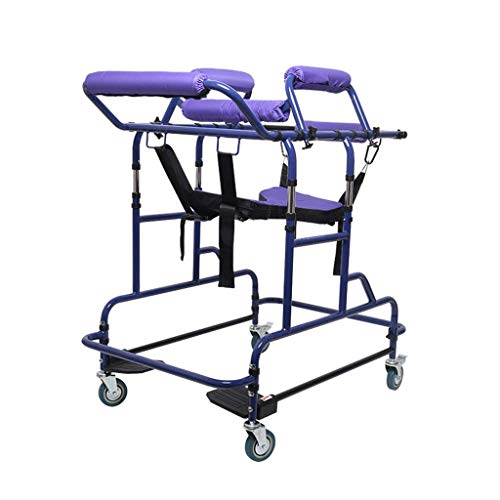 Medical Walker,Highly-Adjustable Elderly Walking Stand,Suitable for Rehabilitation Equipment for Lower Limb Training of Stroke Patients with Hemiplegia