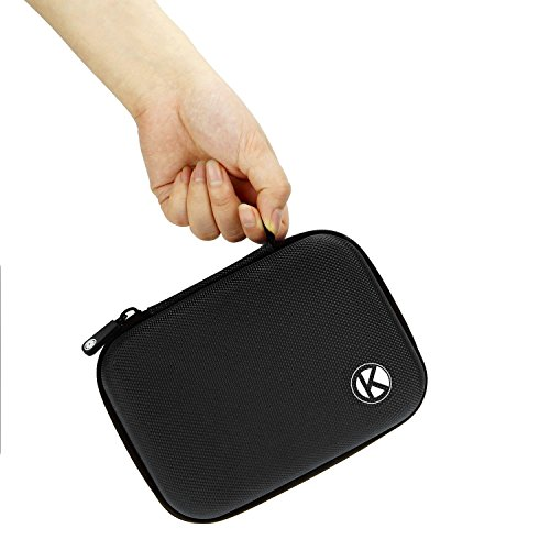 CamKix Carrying Case for Gopro Hero 4, Black, Silver, Hero+ LCD, 3+, 3, 2 - Ideal for Travel or Home Storage - Complete Protection for Your GoPro Camera - CamKix Microfiber Cleaning Cloth Included