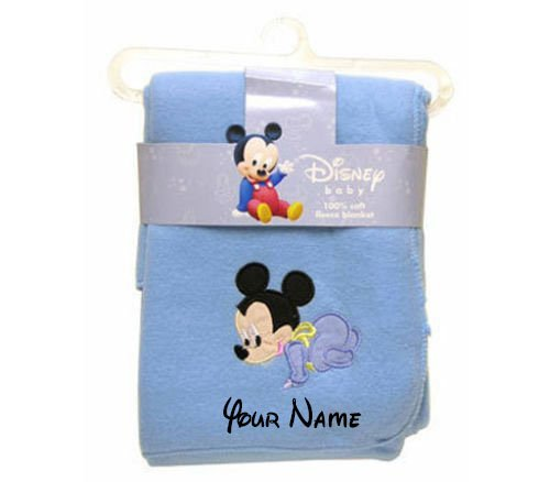 Boy Disney Names - Personalized Disney Baby Mickey Mouse Blue